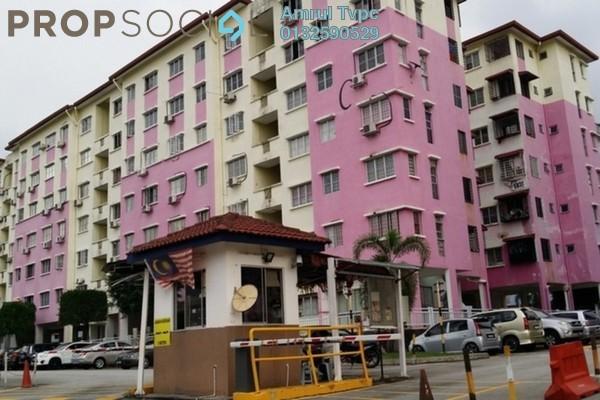 Apartment For Sale in Salvia Apartment, Kota Damansara Leasehold Unfurnished 3R/2B 320k