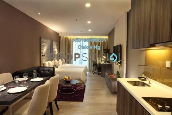 Serviced Residence For Sale in Dorsett Residences, Bukit Bintang Freehold Fully Furnished 1R/1B 1.1m
