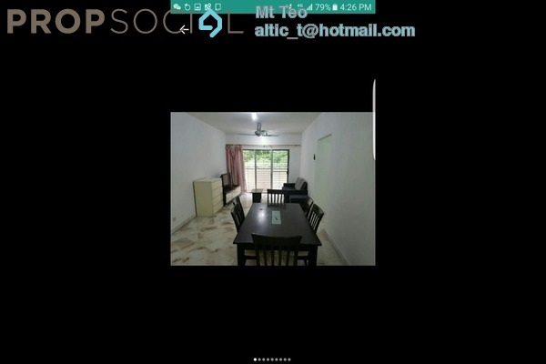Apartment For Rent in Saraka Apartment, Pusat Bandar Puchong Freehold fully_furnished 3R/2B 1.2k