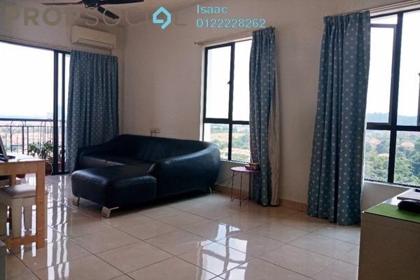 Condominium For Sale in Casa Indah 1, Tropicana Freehold Semi Furnished 3R/2B 650k
