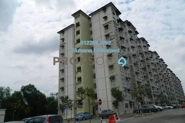 Apartment For Sale in Baiduri Courts, Bandar Bukit Puchong Freehold Semi Furnished 3R/2B 300k