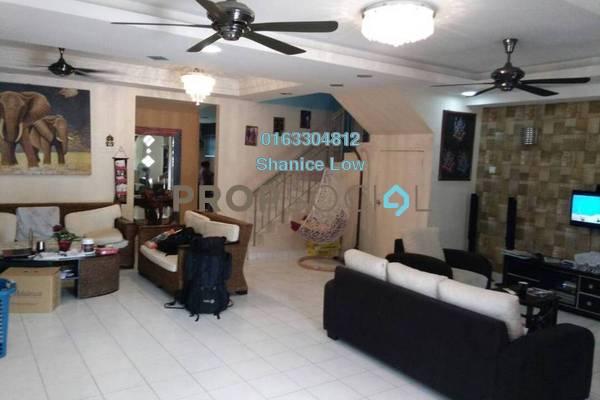 Terrace For Sale in BP10, Bandar Bukit Puchong Freehold Semi Furnished 5R/3B 860k