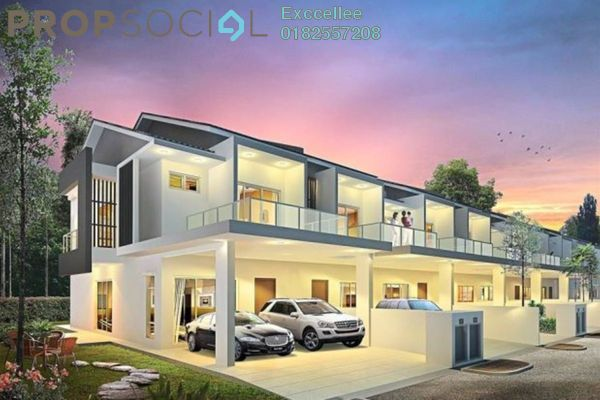 Terrace For Sale in Cybersouth, Dengkil Leasehold Unfurnished 4R/3B 654k