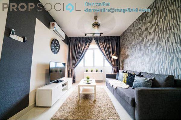 Condominium For Rent in Main Place Residence, UEP Subang Jaya Freehold Fully Furnished 3R/2B 3k