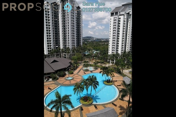 Condominium For Rent in Straits View Condominium, Bandar Baru Permas Jaya Freehold fully_furnished 3R/2B 4k