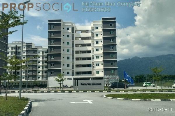 Condominium For Sale in Kampus West City, Kampar Freehold Semi Furnished 0R/0B 243k