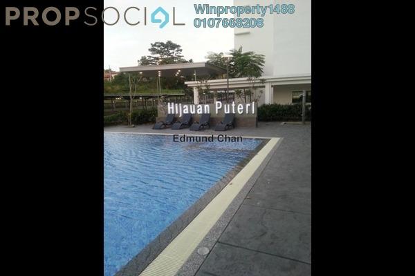 Condominium For Rent in Hijauan Puteri, Bandar Puteri Puchong Freehold Semi Furnished 3R/2B 1.3k