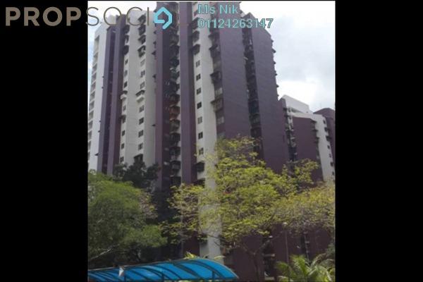 Apartment For Sale in Kondo Rakyat, Pantai Leasehold Unfurnished 3R/2B 188k