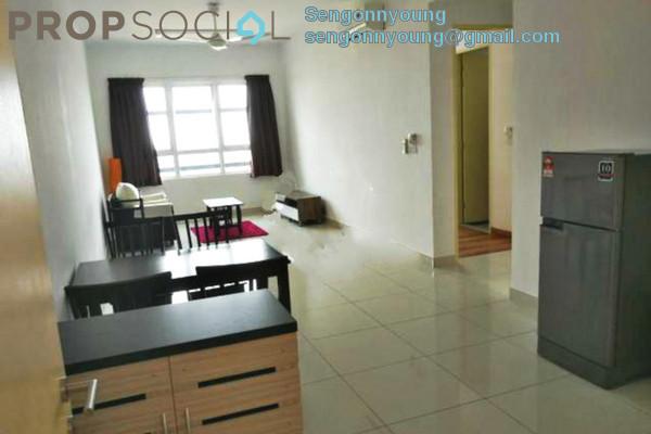 Condominium For Rent in Bandar Bukit Tinggi 2, Klang Freehold Fully Furnished 2R/2B 2.1k
