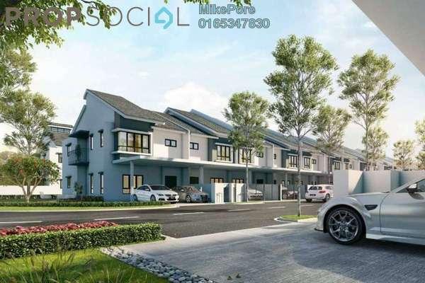 Terrace For Sale in Iringan Bayu, Seremban Freehold Semi Furnished 4R/4B 375k
