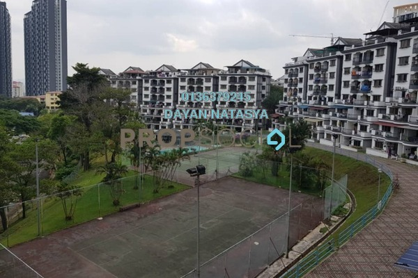 For Sale Condominium at Sri Kinabalu, Wangsa Maju Freehold Fully Furnished 4R/2B 420k
