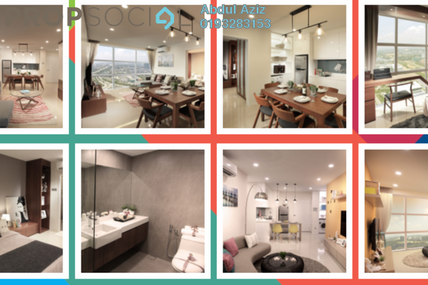 SoHo/Studio For Sale in Third Avenue, Cyberjaya Freehold Fully Furnished 2R/1B 620k