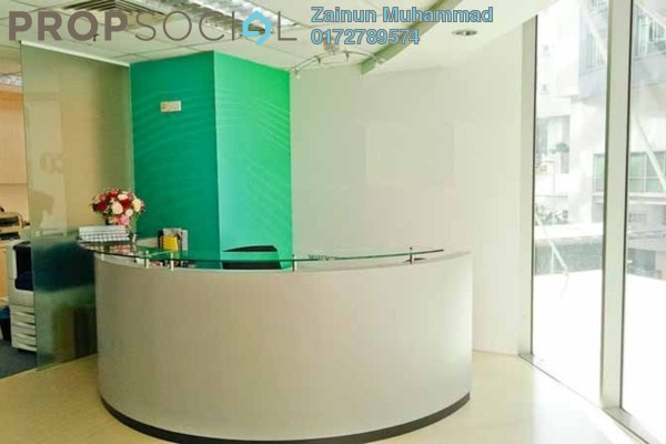 Office For Rent in Plaza Sentral, KL Sentral Freehold Semi Furnished 0R/0B 27.5k
