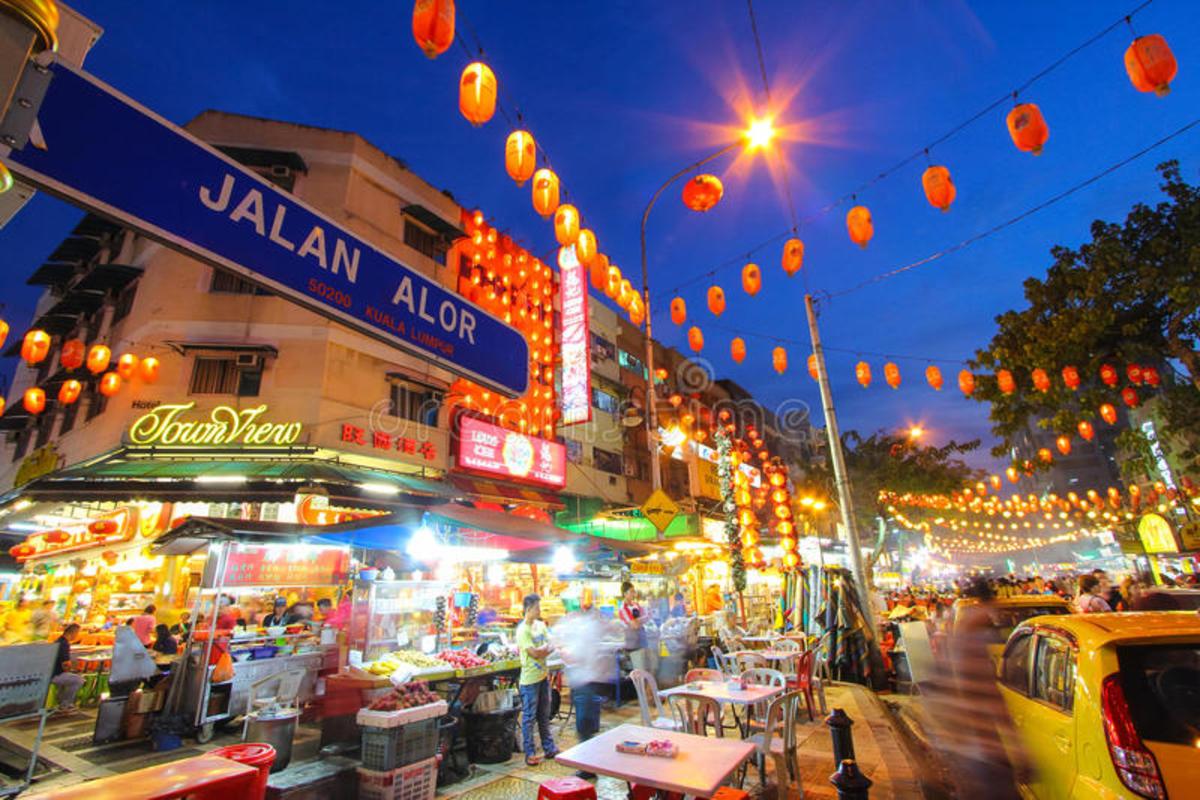 Jalan Alor Night Food Court