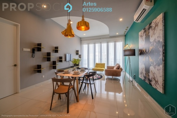 Serviced Residence For Rent in Arte S, Bukit Gambier Freehold Fully Furnished 3R/2B 4k