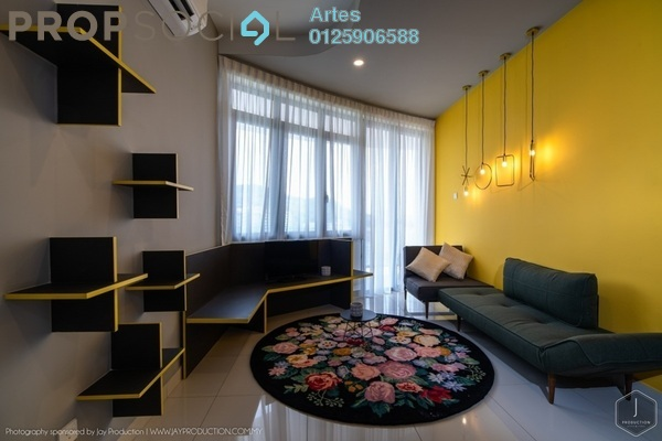 Serviced Residence For Rent in Arte S, Bukit Gambier Freehold Fully Furnished 2R/2B 3k