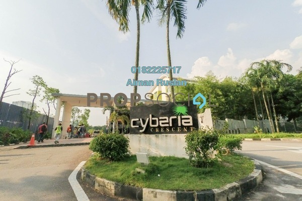 For Sale Townhouse at Cyberia Crescent 1, Cyberjaya Freehold Fully Furnished 4R/3B 575k