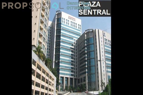Office For Rent in Plaza Sentral, KL Sentral Freehold Semi Furnished 0R/0B 18k