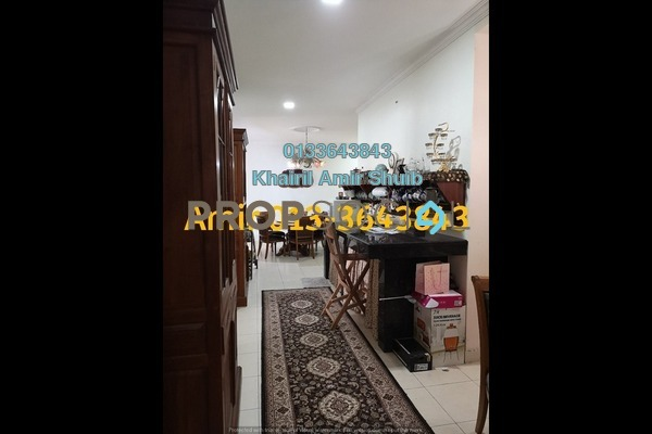 For Sale Condominium at Plaza Rah, Chow Kit Freehold Semi Furnished 5R/3B 1.1m