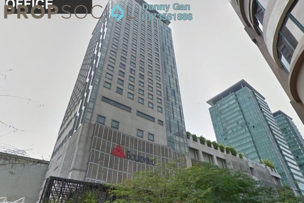 Office For Rent in The Boulevard, Mid Valley City Freehold Semi Furnished 0R/0B 15k