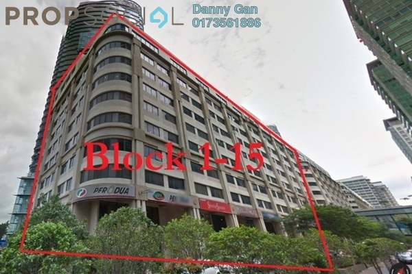 Office For Rent in The Boulevard, Mid Valley City Freehold Semi Furnished 0R/0B 60k
