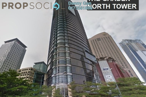 Office For Rent in The Gardens, Mid Valley City Freehold Semi Furnished 0R/0B 23.4k