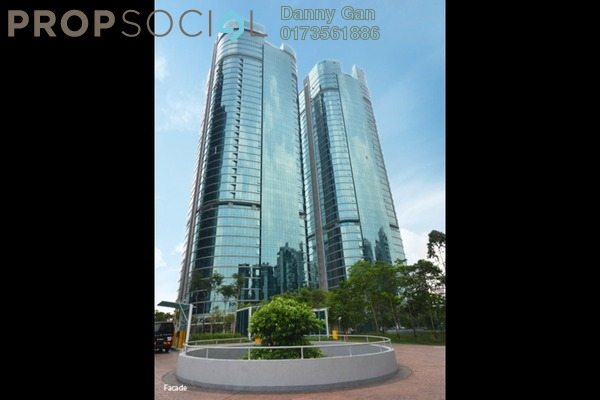 Office For Rent in The Vertical, Bangsar South Freehold Fully Furnished 0R/0B 74.4k