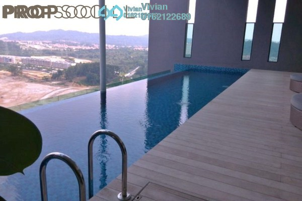 Condominium For Sale in The Treez, Bukit Jalil Freehold Semi Furnished 3R/2B 1.1m