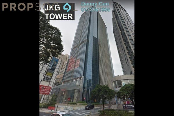 Office For Rent in JKG Tower, Chow Kit Freehold Semi Furnished 0R/0B 16.5k