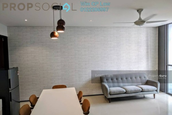 Condominium For Rent in The Fennel, Sentul Freehold Semi Furnished 3R/3B 2.3k