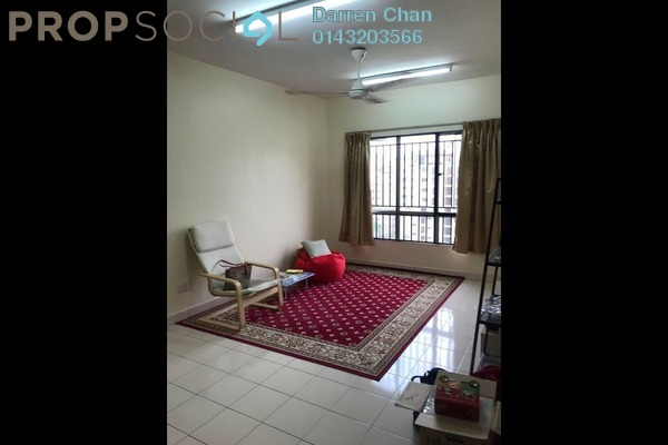 Condominium For Rent in Laman Midah, Cheras Freehold Semi Furnished 3R/2B 1.2k