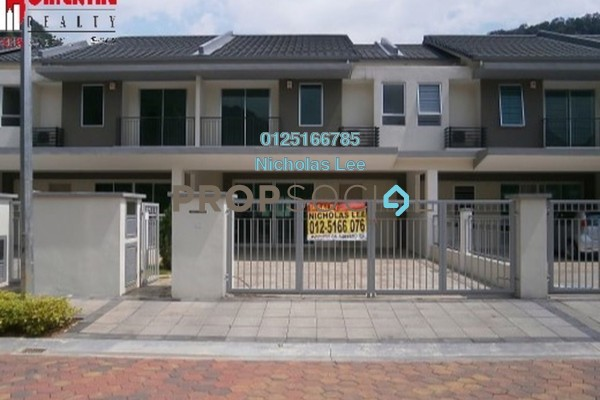 For Rent Superlink at Sunway City Ipoh, Tambun Freehold Unfurnished 0R/0B 3.8k