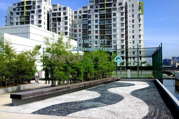 Condominium For Sale in Midfields, Sungai Besi Freehold Fully Furnished 3R/2B 580k