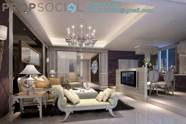 Condominium For Sale in Platinum Splendor Residence, Kuala Lumpur Freehold Unfurnished 3R/2B 300k