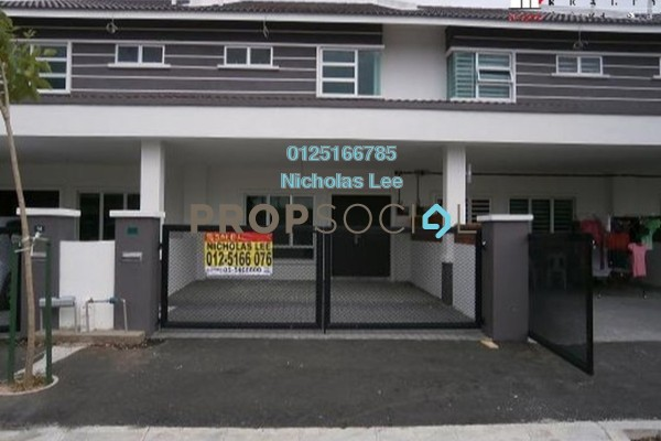 Terrace For Rent in Station 18, Ipoh Freehold Semi Furnished 0R/0B 850translationmissing:en.pricing.unit