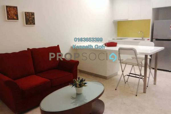 Serviced Residence For Sale in The Signature, Sri Hartamas Freehold Fully Furnished 1R/1B 525k