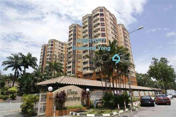 Condominium For Sale in Desa Gembira, Kuchai Lama Freehold Semi Furnished 3R/2B 515k