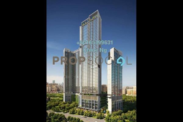 Condominium For Sale in Berjaya Times Square, Bukit Bintang Freehold Semi Furnished 2R/2B 1.1m