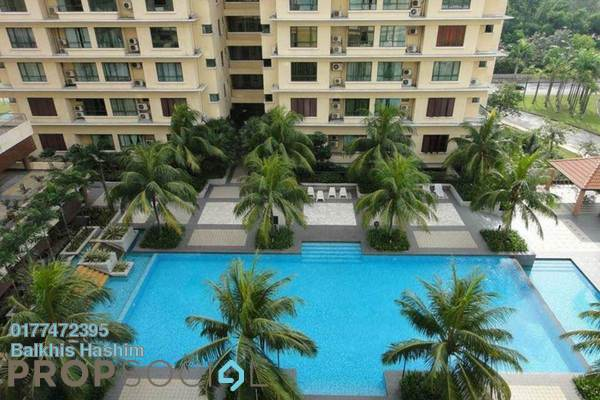 Condominium For Sale in Sri Acappella, Shah Alam Freehold Fully Furnished 3R/2B 520k