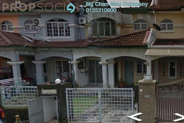 Terrace For Sale in BP1, Bandar Bukit Puchong Freehold Semi Furnished 0R/0B 405k
