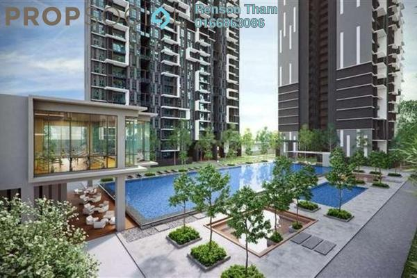 Condominium For Sale in Green Residence, Cheras South Freehold Semi Furnished 3R/3B 730k