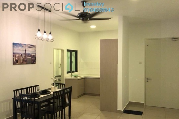 Condominium For Rent in The Holmes, Bandar Tun Razak Freehold Fully Furnished 3R/2B 2.2k