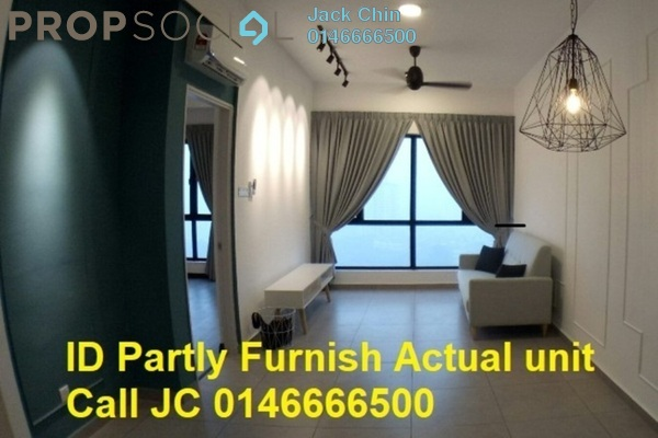 Condominium For Rent in D'Sands Residence, Old Klang Road Freehold Semi Furnished 2R/2B 1.85k