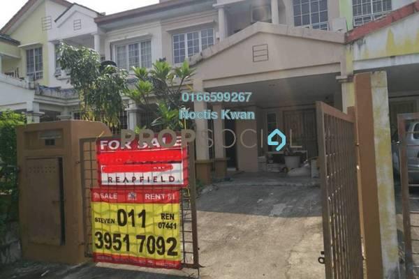 Terrace For Sale in BP10, Bandar Bukit Puchong Freehold Semi Furnished 4R/3B 645k