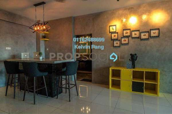 Condominium For Sale in The Latitude, Tanjung Tokong Freehold Fully Furnished 3R/2B 800k