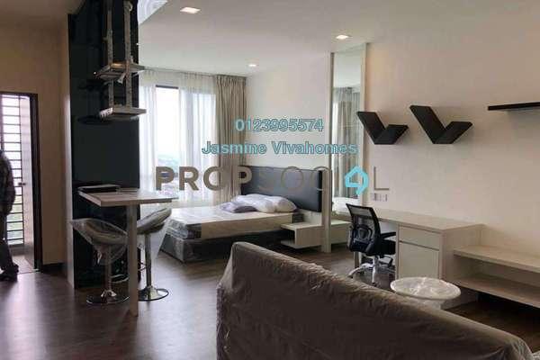 SoHo/Studio For Rent in Landmark II, Bandar Sungai Long Freehold Fully Furnished 1R/1B 1.2k
