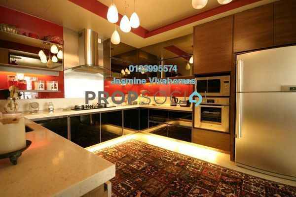 Condominium For Sale in 2 Hampshire, KLCC Freehold Fully Furnished 4R/5B 2.48m