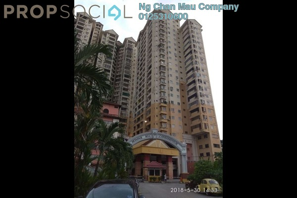 Condominium For Sale in Setapak Ria Condominium, Setapak Freehold Semi Furnished 0R/0B 390k