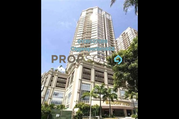 Serviced Residence For Sale in Waldorf Tower, Sri Hartamas Freehold Fully Furnished 5R/4B 2.3m
