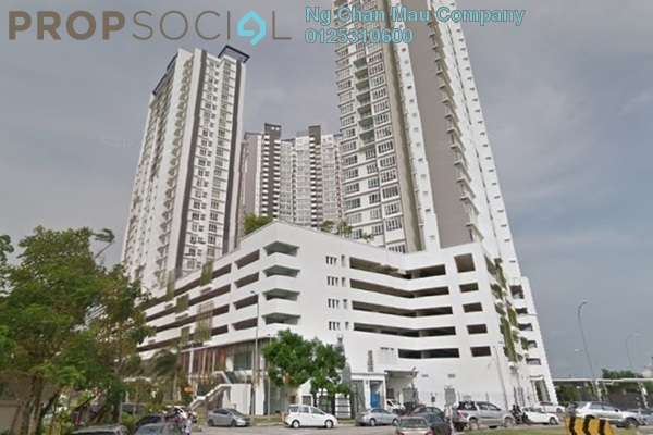 Apartment For Sale in Tropez Residences, Danga Bay Freehold Semi Furnished 0R/0B 467k